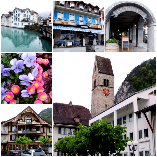 The historic town of Unterseen