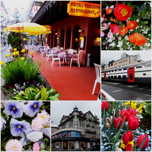 Impressions of downtown Interlaken