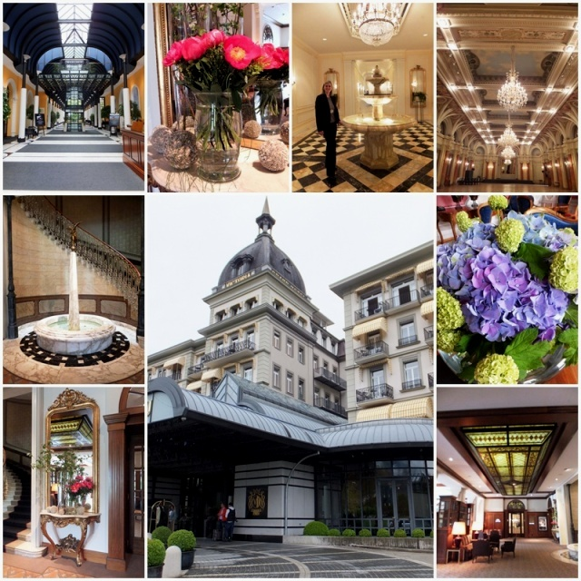 The iconic Hotel Victoria-Jungfrau in Interlaken