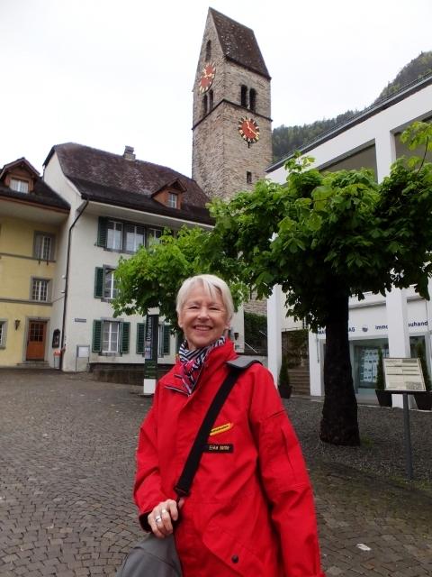 Erika Mattle, my expert tour guide