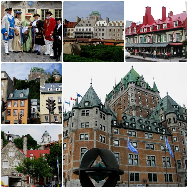 Quebec City, one of Canada's oldest cities