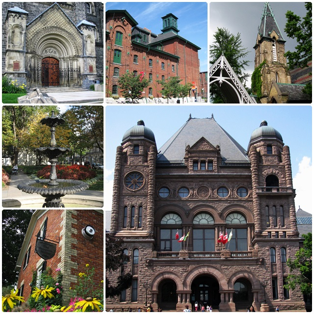 Toronto, full of interesting historic spots