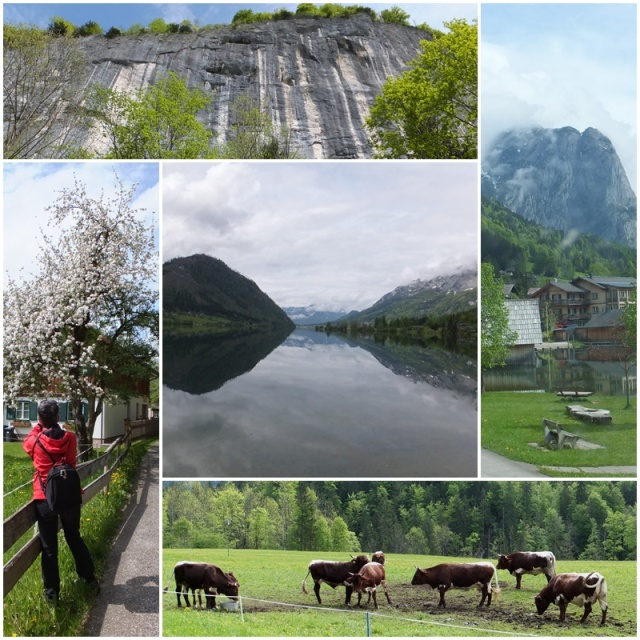 The viilage of Gössl and Lake Grundlsee