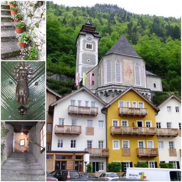 Right in the heart of Hallstatt