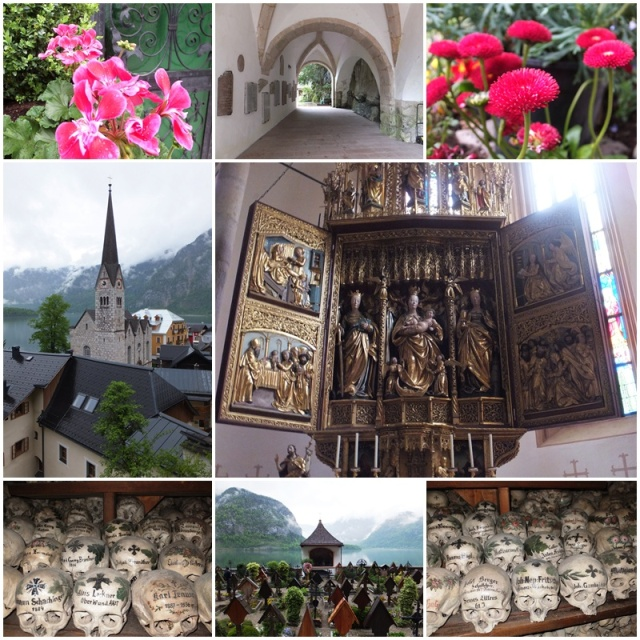 The Ossuary of Hallstatt, one of the more macabre destinations