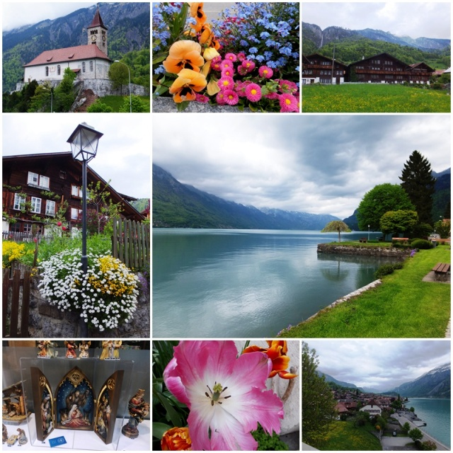 The picturesque village of Brienz