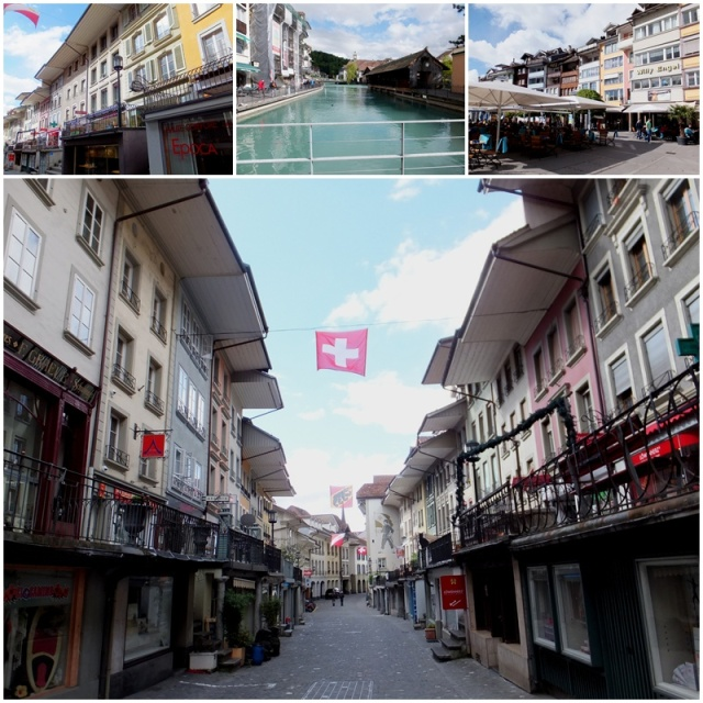 Obere Hauptgasse - one of Thun's main shopping streets