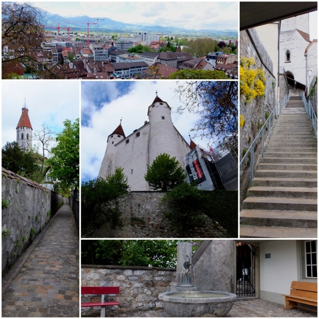 The medieval Castle of Thun