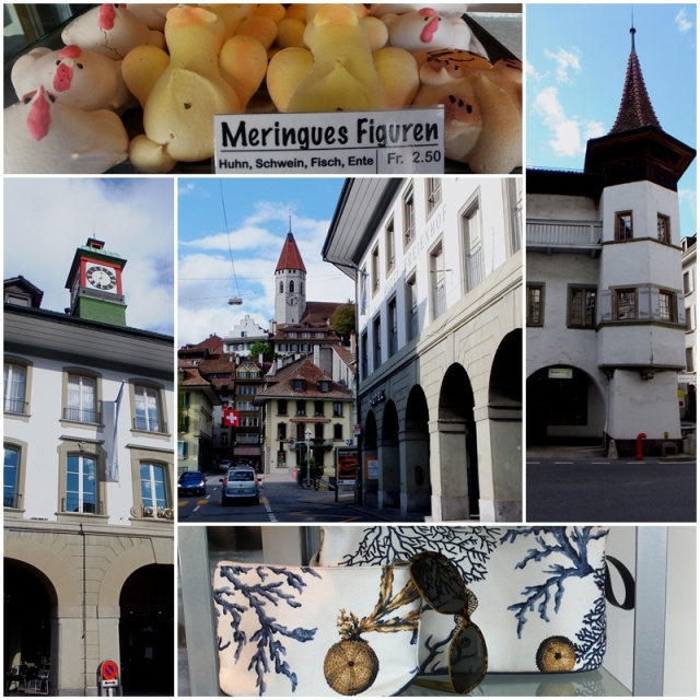 Lots of shopping opportunities in Thun