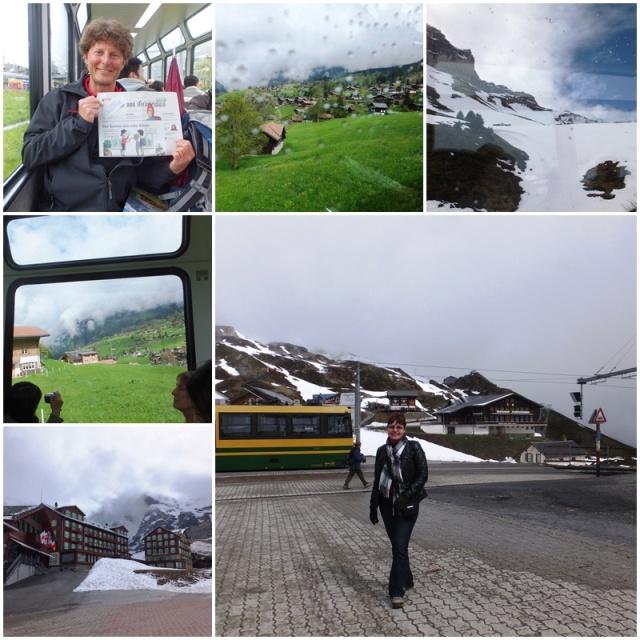 Views of the Kleine Scheidegg