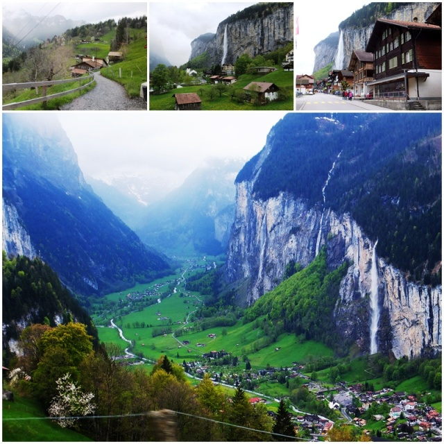 The iconic Lauterbrunnen Valley