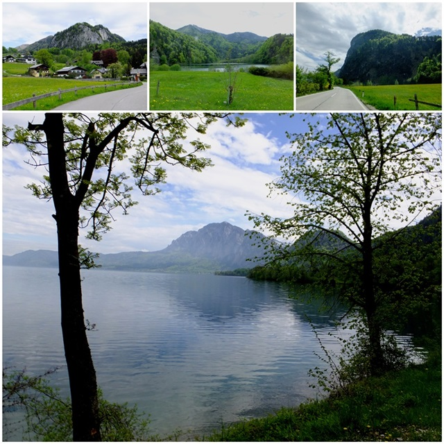 Scenic views of Lake Attersee