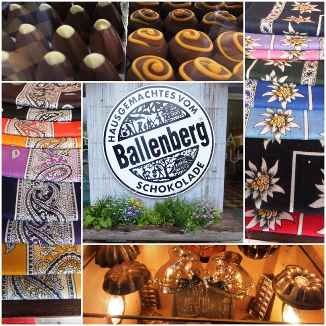Chocolate treats from the Ballenberg Museum