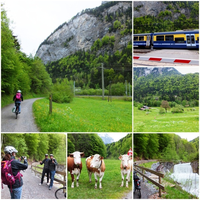 Lauterbrunnen Valley biking