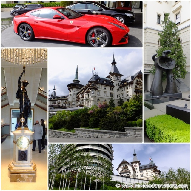 The Grand Hotel Dolder in Zurich Switzerland