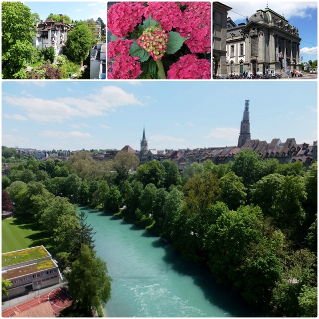 Hotel    A first look at Bern Switzerland and the River Aaren