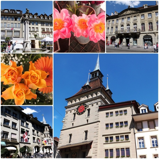 The embassy district of Bern Switzerland