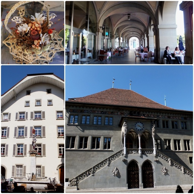 The medieval City Hall of Bern Switzerland