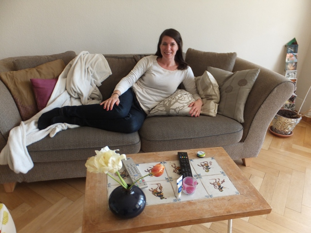 My local hostess in Bern Switzerland: Sandra Gurtner