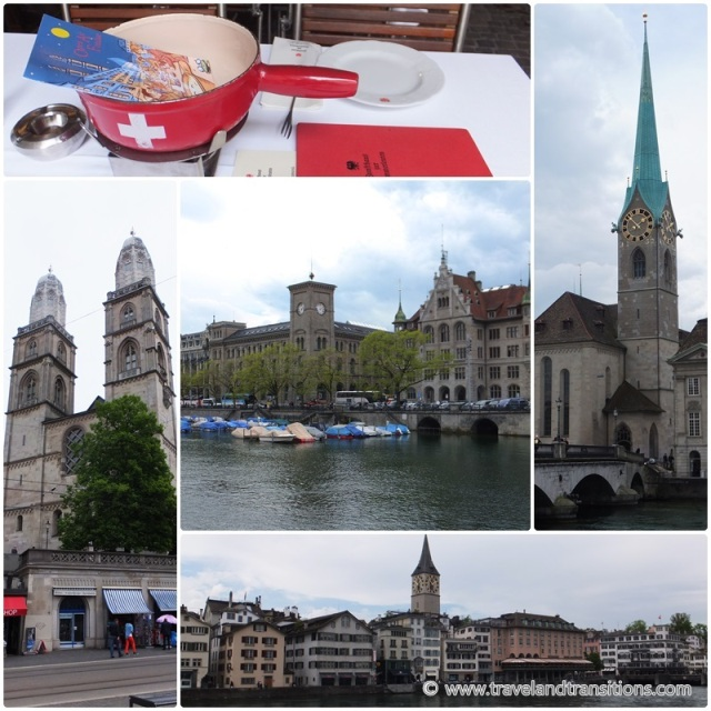 Zurich Switzerland has many impressive churches, e.g. the Grossmünster and the Fraumünster
