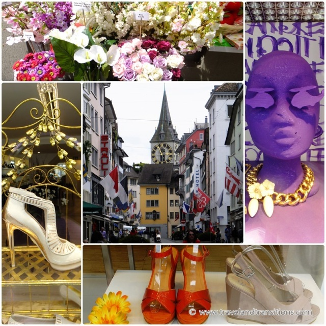 Shopping opportunities in Zurich's Bahnhofstrasse district
