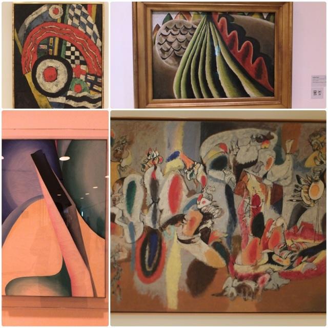 Abstract art at the