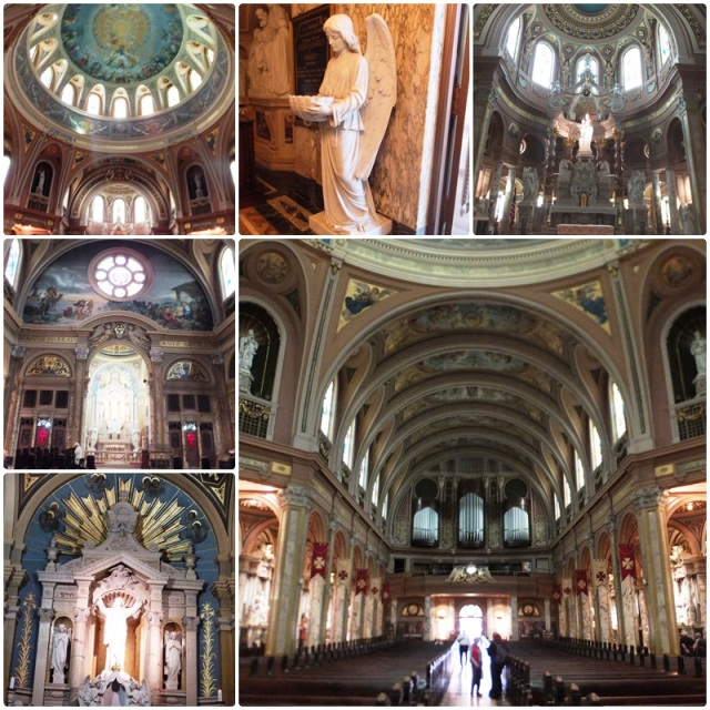 The amazing interior of Our Lady of Victory Basilica