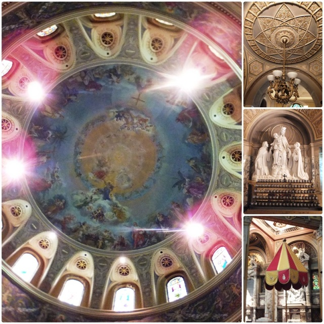 The magnificent dome of the Our Lady of Victory Basilica
