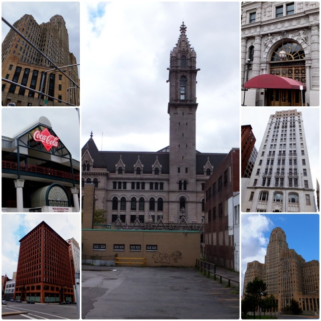 Downtown Buffalo architecture is amazing