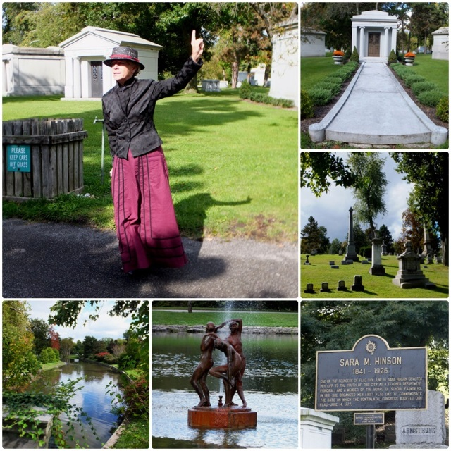 Sarah Hinson, one of the colourful characters of Forest Lawn Cemetery