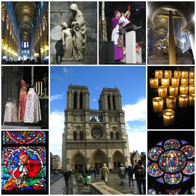 Notre Dame Cathedral, the world's most famous Gothic cathedral