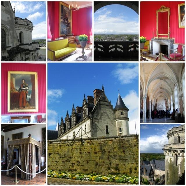 Loire Valley castles: the Chateau d'Amboise