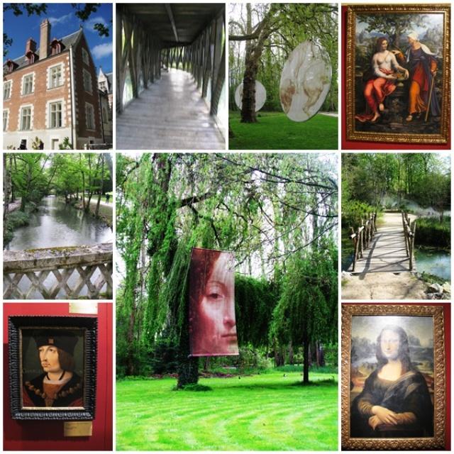 Loire Valley castles: the fabulous garden of Clos Lucé