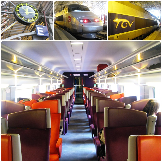 A real experience: a ride in the TGV