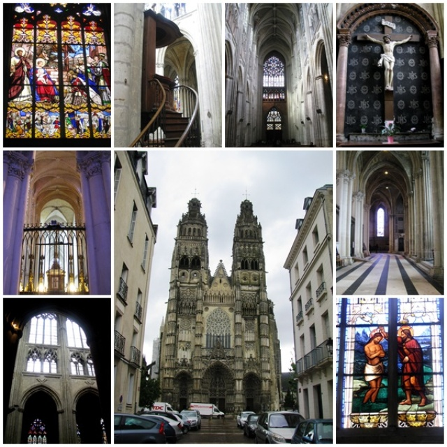 Loire Valley treasures: the Cathedral of Tours