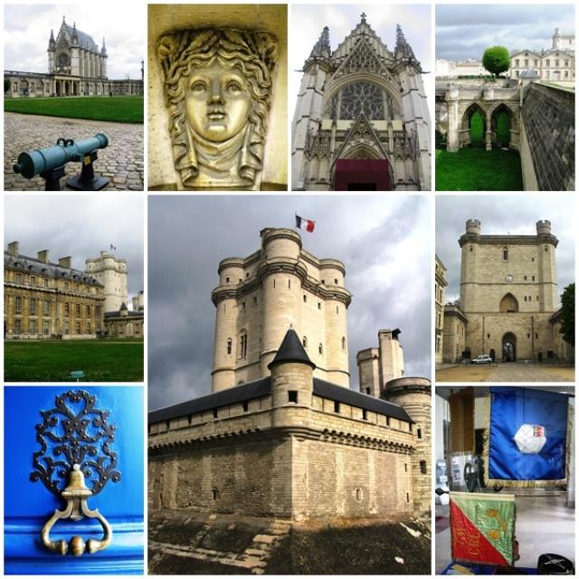 The impressive medieval Chateau de Vincennes
