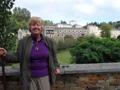 Ingrid Folkers on the Camino de Santiago