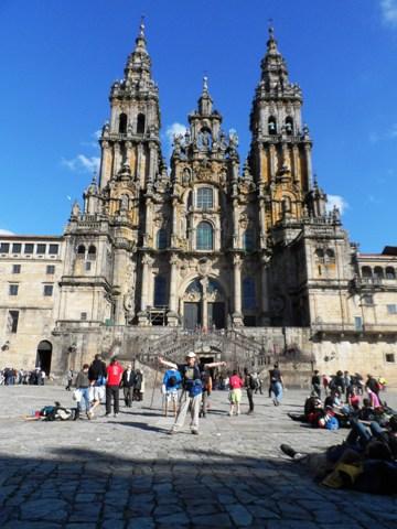 Santiago de Compostela - at last