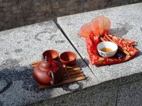 Ingrid's travelling tea set