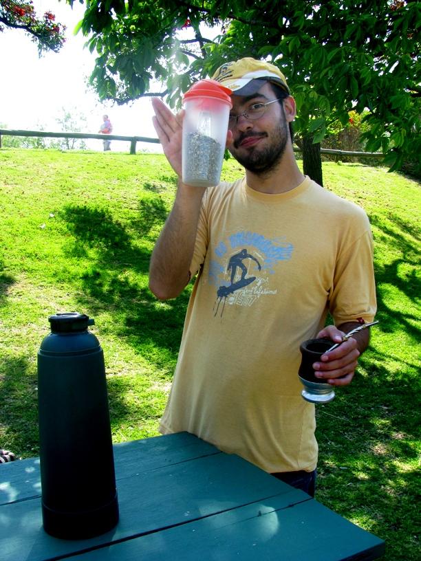 Rodrigo Liffourena, our expert bicycle guide