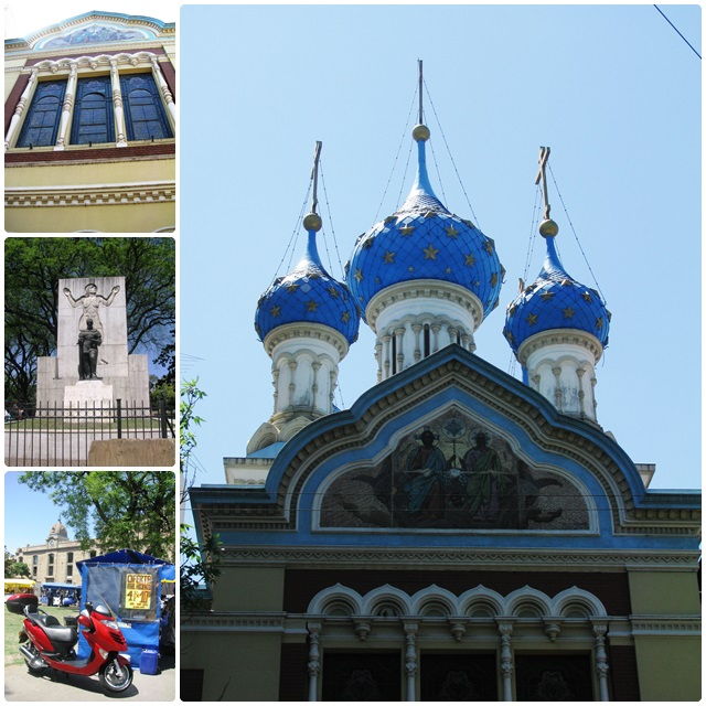 The Russian Orthodox Church & the Parque Lezama