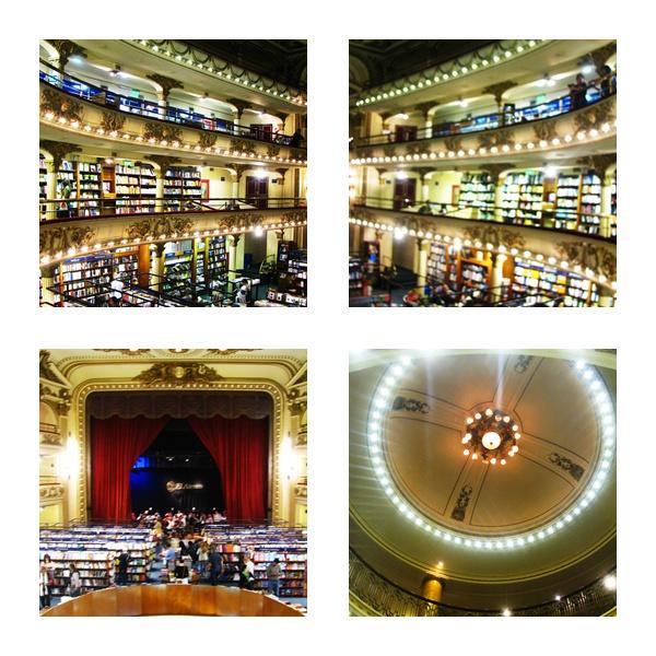 El Ateneo - a wonderful book store