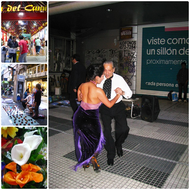 Live tango in Calle Florida