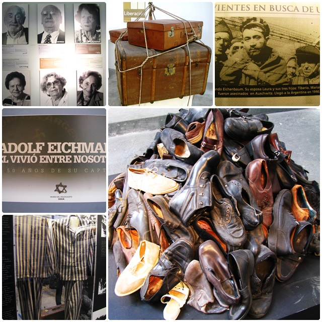 Gripping exhibits at the Buenos Aires Shoah Museum