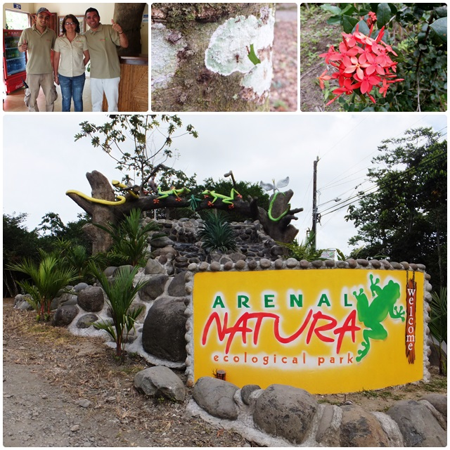 Starting my tour at Arenal Natura