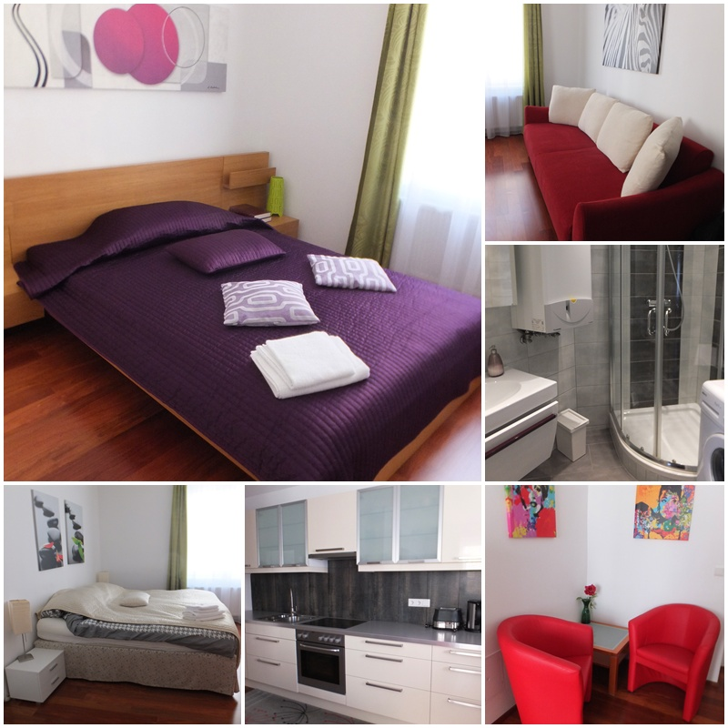 Our comfortable apartment in Vienna