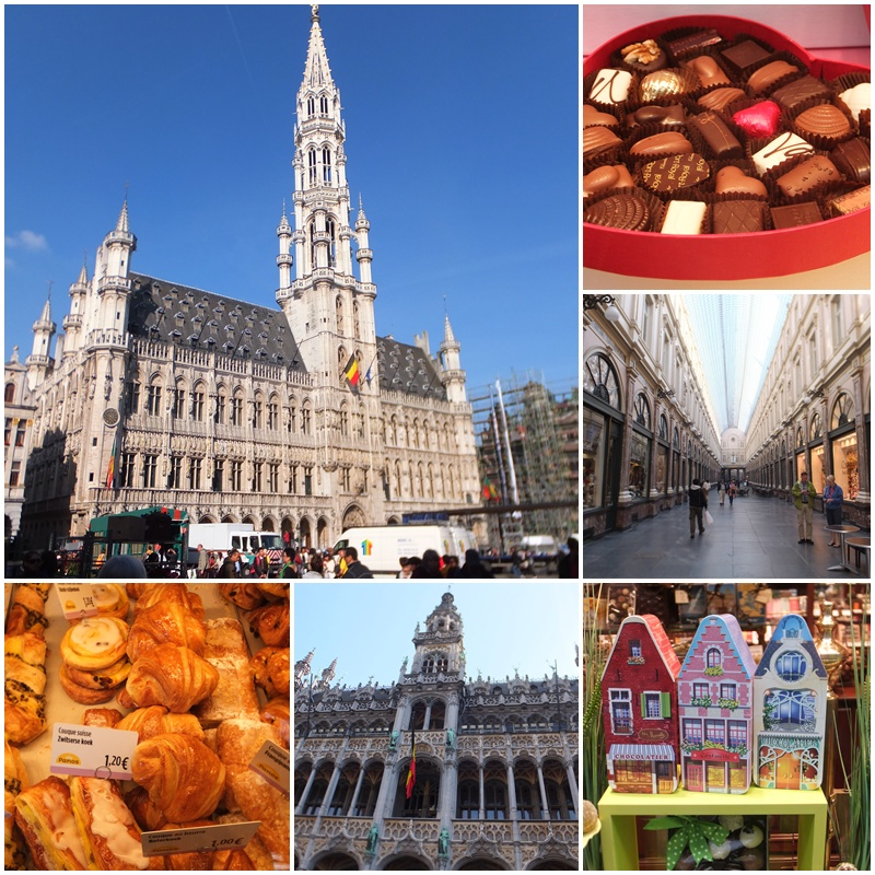 Visiting the Groote Markt & the Galeries Saint Hubert in Brussels