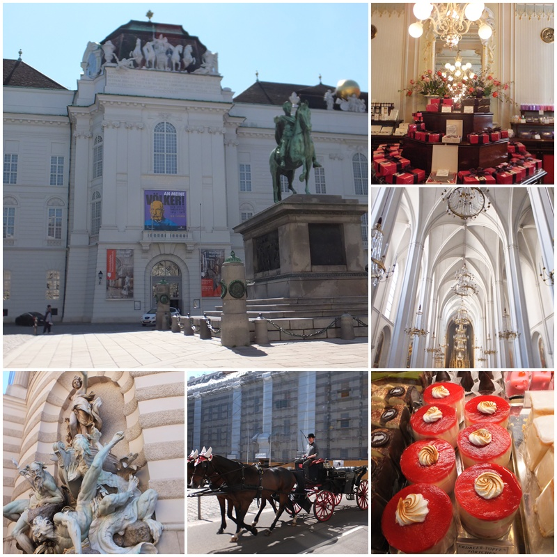 The Hofburg Palace - the heart of the former Habsburg Empire
