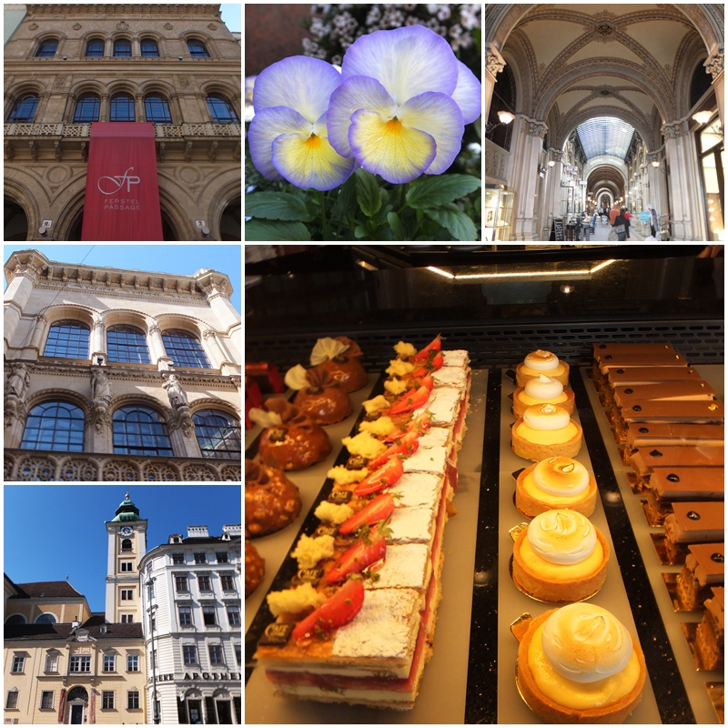 The Vienna State Opera, the Freyung & sweet Austrian treats