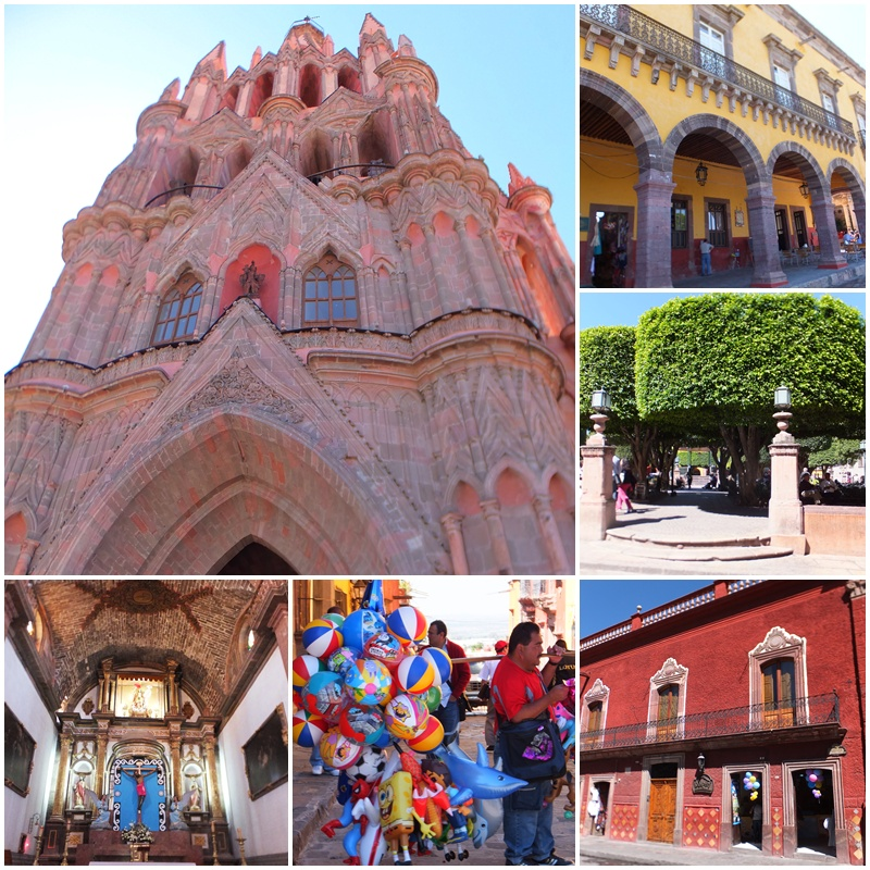 The main square of San Miguel de Allende